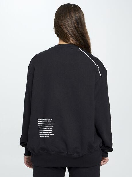 Mantra Derek Sweatshirt, Black, large image number 3
