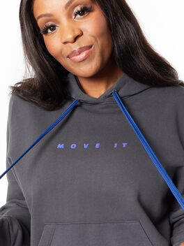 The Whip It Hoodie Faded Black, Faded Black, large