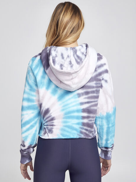 Tie-Dye Brooklyn Sweatshirt, Blue Tied, large image number 2