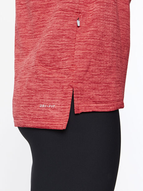 Therma Sphere Element Half Zip, Tough Red/Htr/Lt Fusion Red, large image number 4