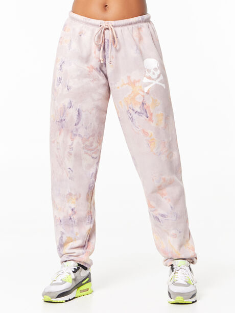 Tie-Dye Super Slouch Sweatpant Marble, Tie Dye, large image number 1