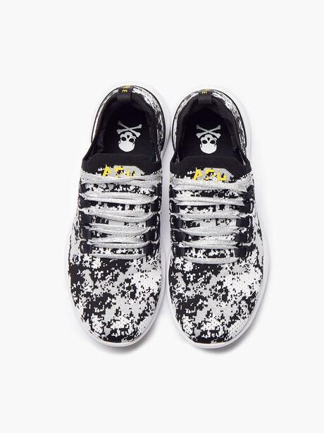 Men's Camo Breeze Sneaker, Black/Metallic Silver, large image number 2