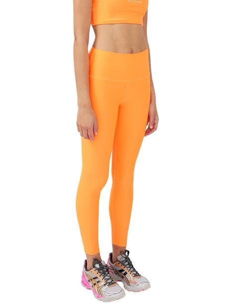Grand Stand Legging Shocking Orange, Orange, large image number 0
