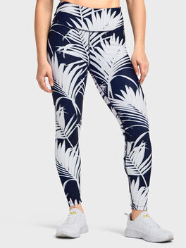 RETRO PALM ALLOVER PRINT LEGGI, Multi Color, large