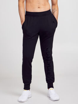 Tonal Jogger Sweatpants, Black, large