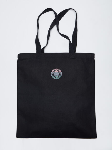 TANYSHA Tote Bag, Black, large image number 2