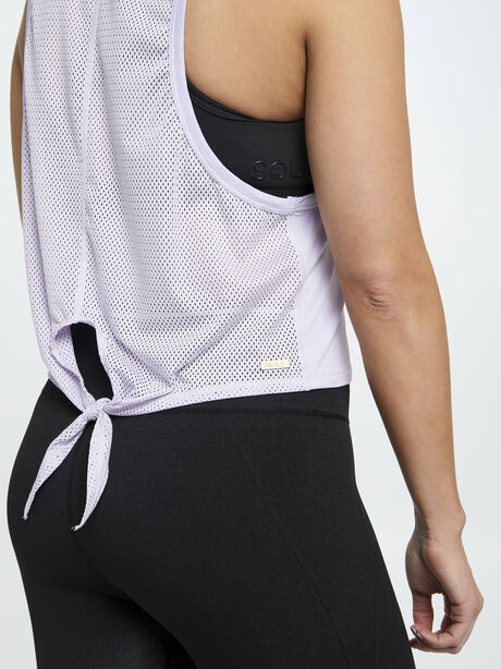 Exclusive Mesh Tank Lilac, Vintage Lilac, large image number 3