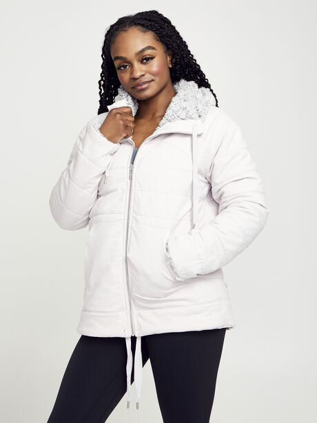 Sherpa Full Zip, Light Chrome/Heathered White, large image number 1