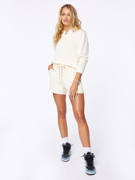 Terry Henley Sweatshirt Cream, Off White, large image number 4