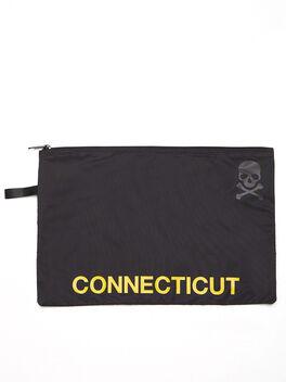 Connecticut Reusable Sweat Bag, Black, large