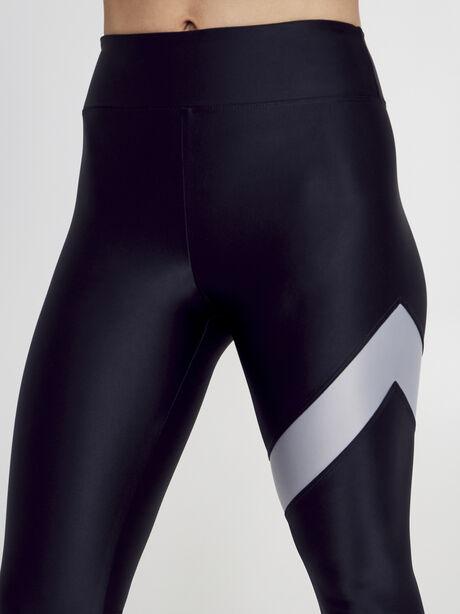 Black/Silver Appeal Energy High Rise Legging, Black/Silver, large image number 2