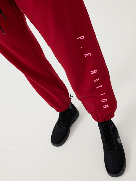 Courtside Trackpant Chilli Pepper, Red, large image number 6