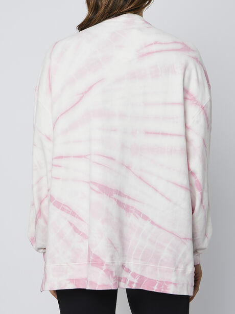 Neil Tie-Dye Sweatshirt, Pink, large image number 2