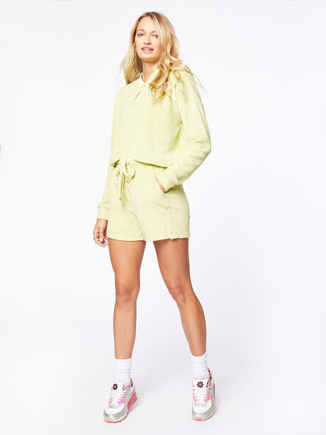 Terry Henley Sweatshirt Lime, Green, large image number 0