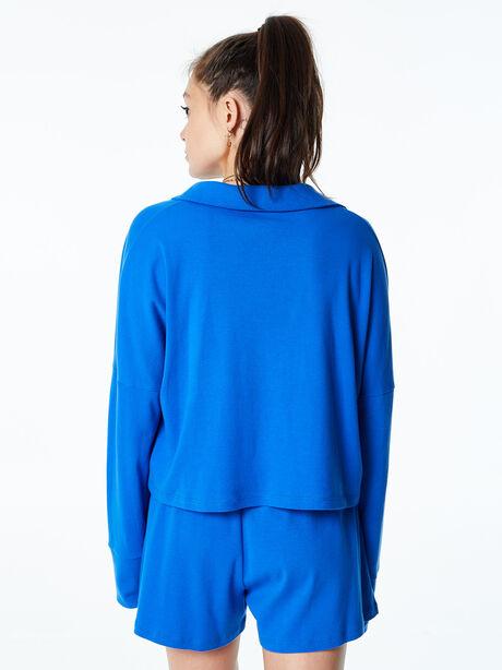 Summer Rugby Shirt Blue, Blue, large image number 3