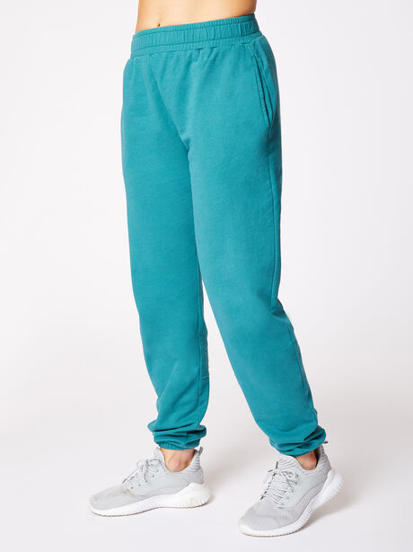 Boyfriend Sweatpant Winter Green, Green, large image number 1