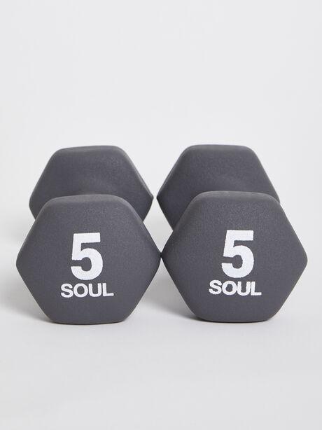 5 lb Weight Set, Grey, large image number 2