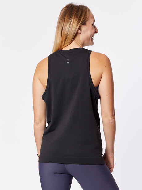 Swiftly Breeze Tank, Black/Black, large image number 1