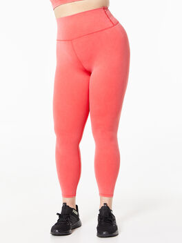 Milestone Mineral Wash Tights Red, Red, large