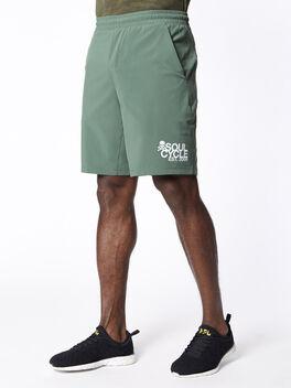 """Pace Breaker Short 9"""" Lined Algae Green, Algae Green, large"""
