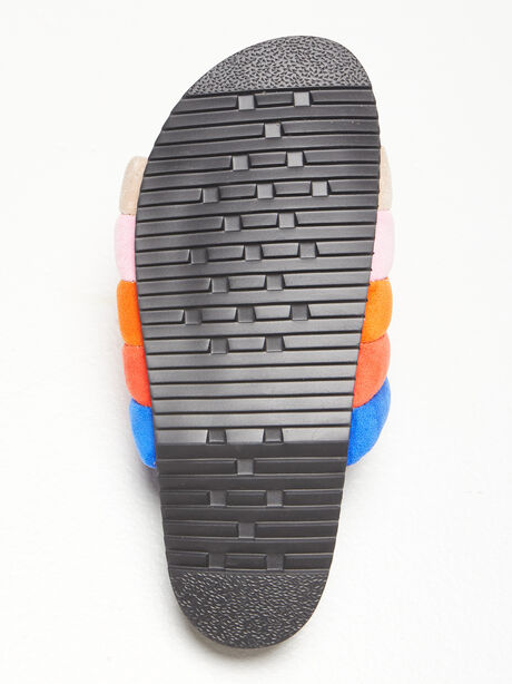 The Puffy Slide Suede Multi, Multi, large image number 3
