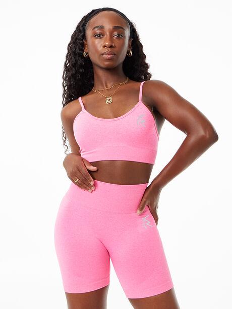 Safiyah Seamless Bra Pink, Pink, large image number 0