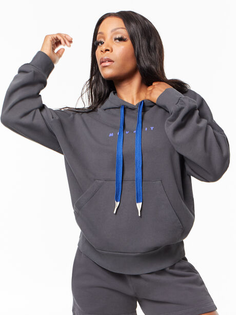 The Whip It Hoodie Faded Black, Faded Black, large image number 0