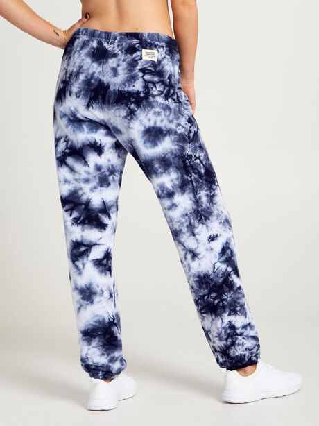 Super Slouchy Sweatpants, Navy/White, large image number 1