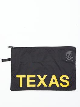 Texas Reusable Sweat Bag, Black, large