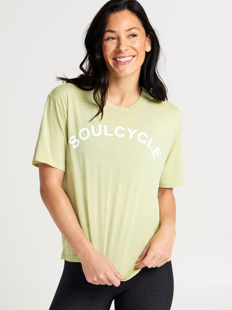 Lime Boxy Sunny Tee, Green, large image number 0