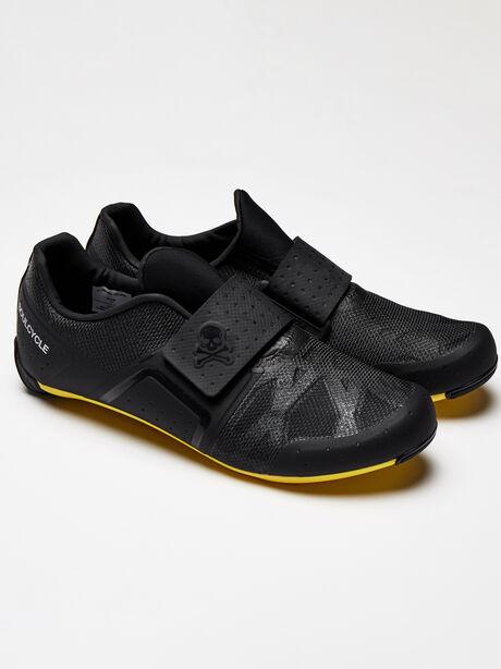 Black Legend Cycling Shoe, Black, large image number 1