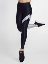 Black/Silver Appeal Energy High Rise Legging, Black/Silver, large