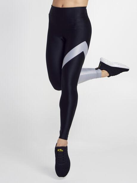 Black/Silver Appeal Energy High Rise Legging, Black/Silver, large image number 0