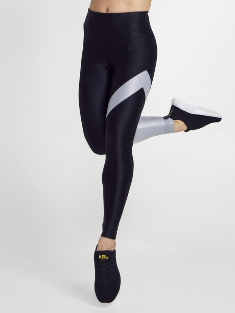 Black/Silver Appeal Energy High Rise Legging, Black/Silver, large image number 0