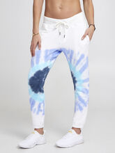 Exclusive Sayde Slouchy Sweatpants, Blue Tied, large