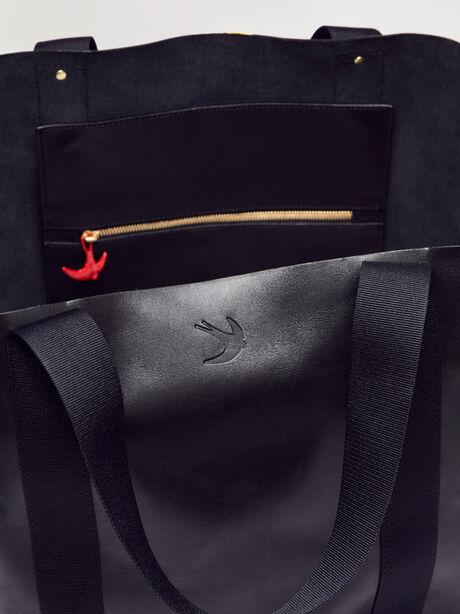 Big Daddy Dripping Skull Bag, Black, large image number 3