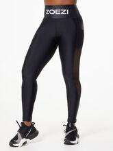 Ultra-Flex High Performance Mesh Leggings Black, Black, large