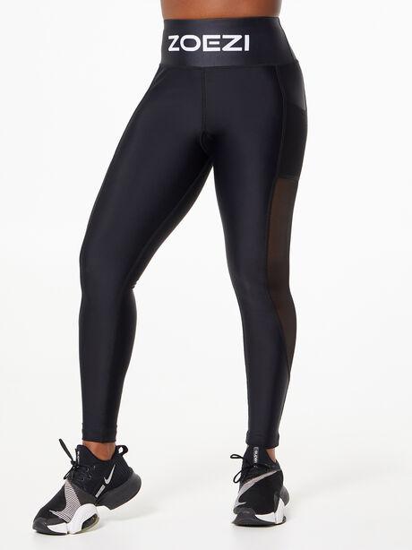 Ultra-Flex High Performance Mesh Leggings Black, Black, large image number 0