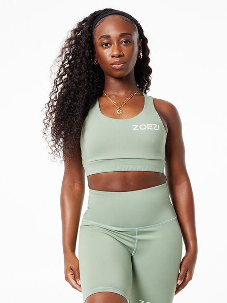 Multi-Sport Sports Bra Green, Green, large image number 2