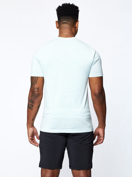 Metal Vent Tech Short Sleeve, White/White/Blue/Lime, large image number 3